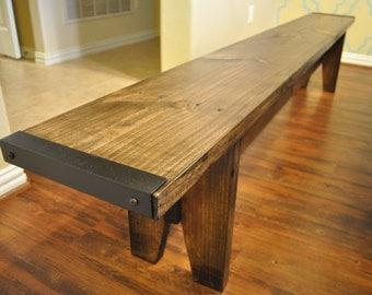 Farmhouse Dining Table Bench