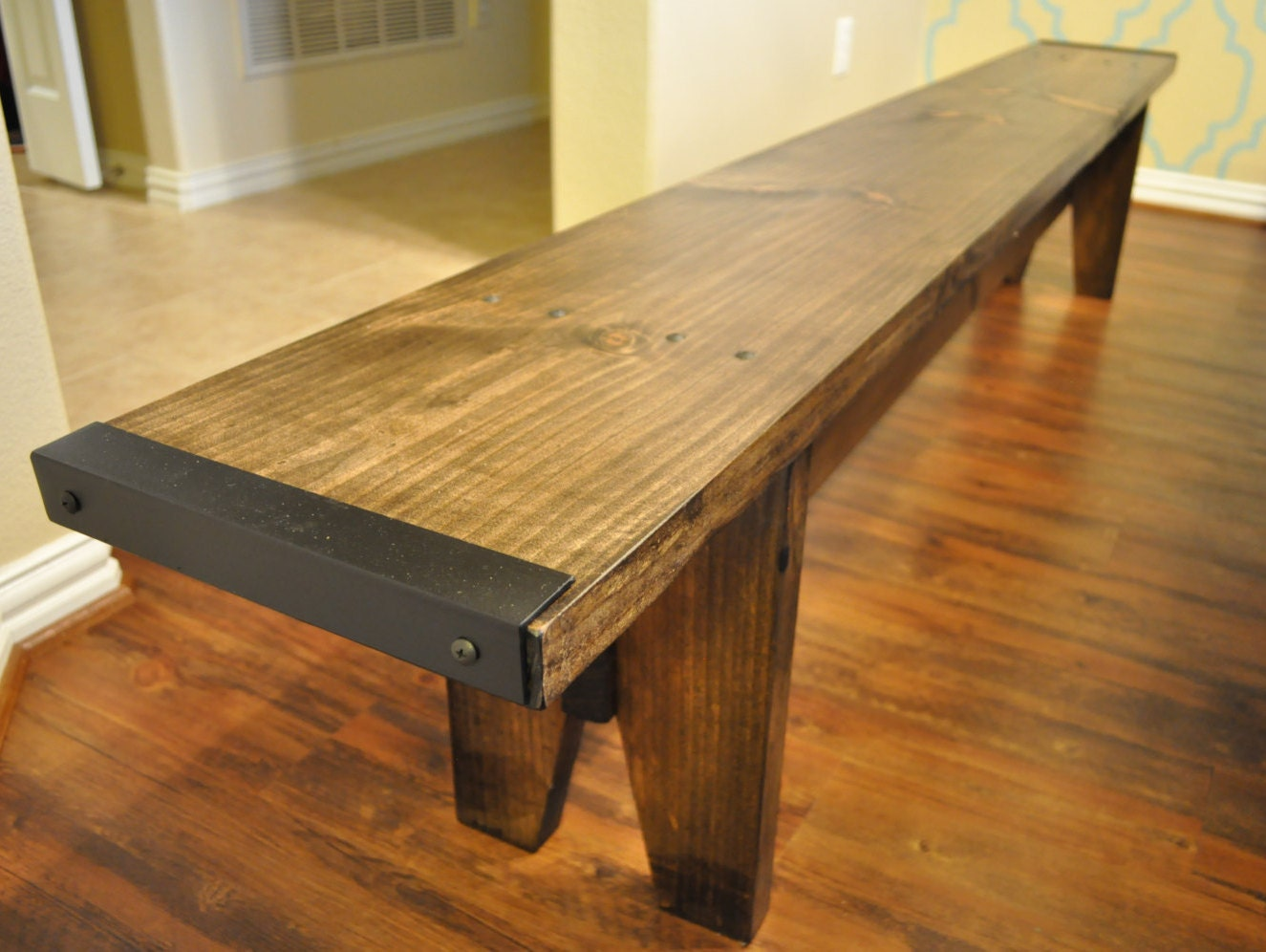 Farmhouse Dining Table Bench