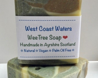 West Coast Waters Scottish Clay Handmade Soap Bar