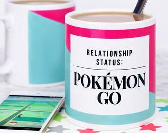 Pokémon Mug - Funny Mug - Relationship Status Pokémon Go - Pokémon Gift