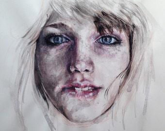 Cold Face Illustration