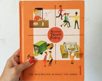 Vintage Science and Health Textbook // MacMillan Science Life Series 1