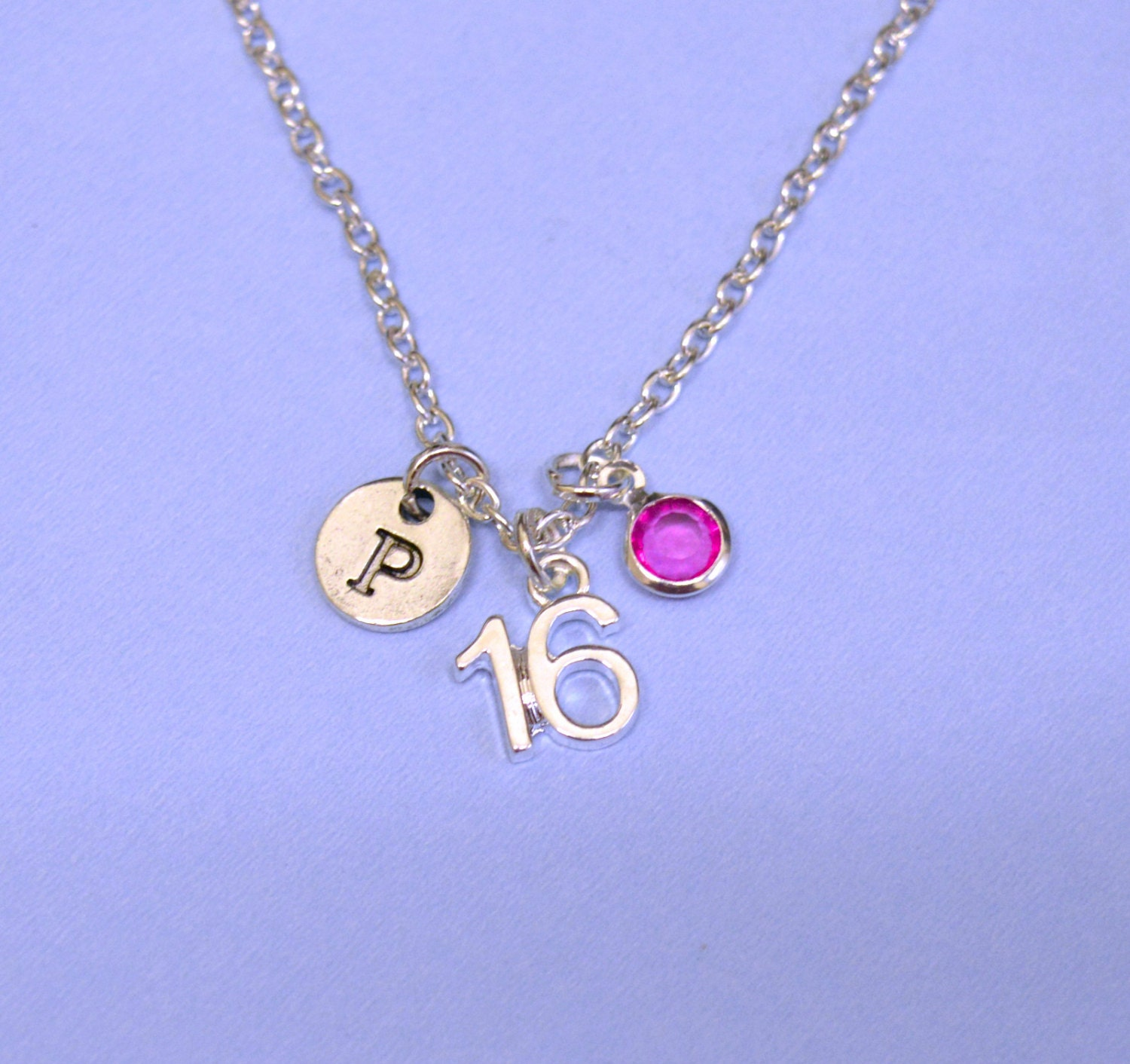 16th Sweet 16 Sweet Sixtreen Birthday Gift Necklace Jewelry