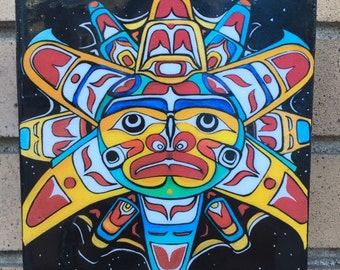 Sun Mask Resin Print