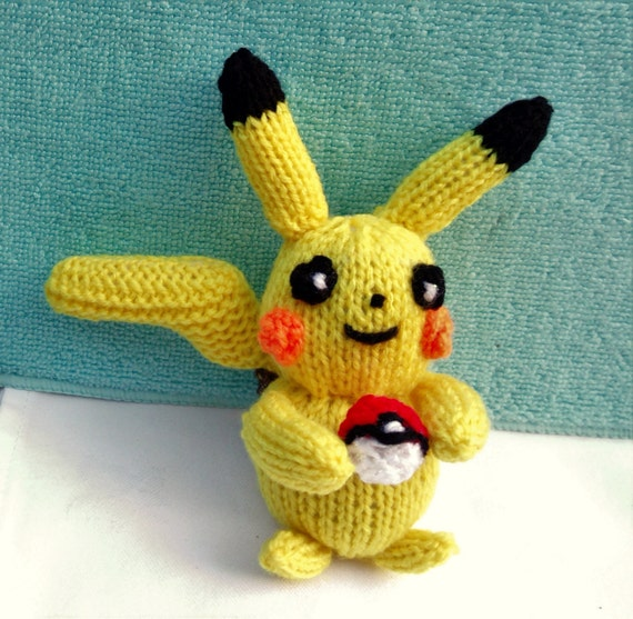 Pokemon Knitting Patterns : Pokemon Knitting Patterns Images Pokemon Images
