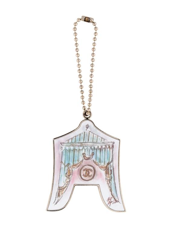 chanel bag charm by pinkdiamondjewelry on etsy