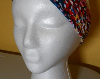 HEADBAND - Turban Style -  Explosion of color