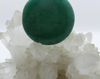Turquoise Medallion pendant.
