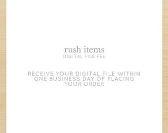 Rush Items DIGITAL