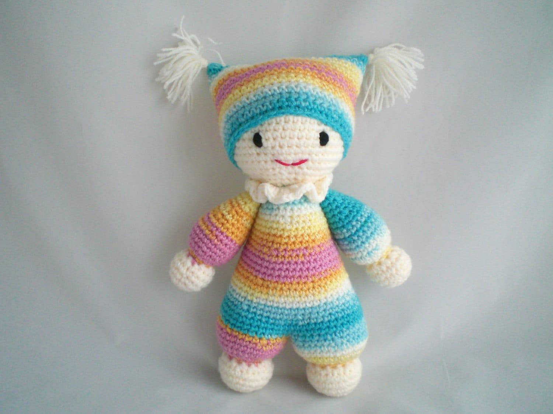 Crochet Amigurumi For Baby : Crochet baby doll amigurumi super cute