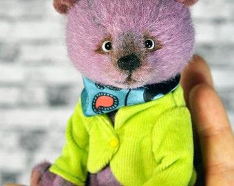 Teddy Bear Miles, 5in, miniature toy