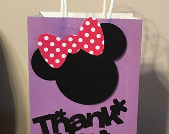 12   Minnie Mouse Party Bags