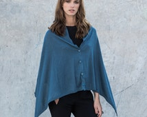 Convertible scarf, knit cape , convertible sweater, women poncho, women shawl, knit shrug, knit bolero, Winter wrap, gift for her, gift idea