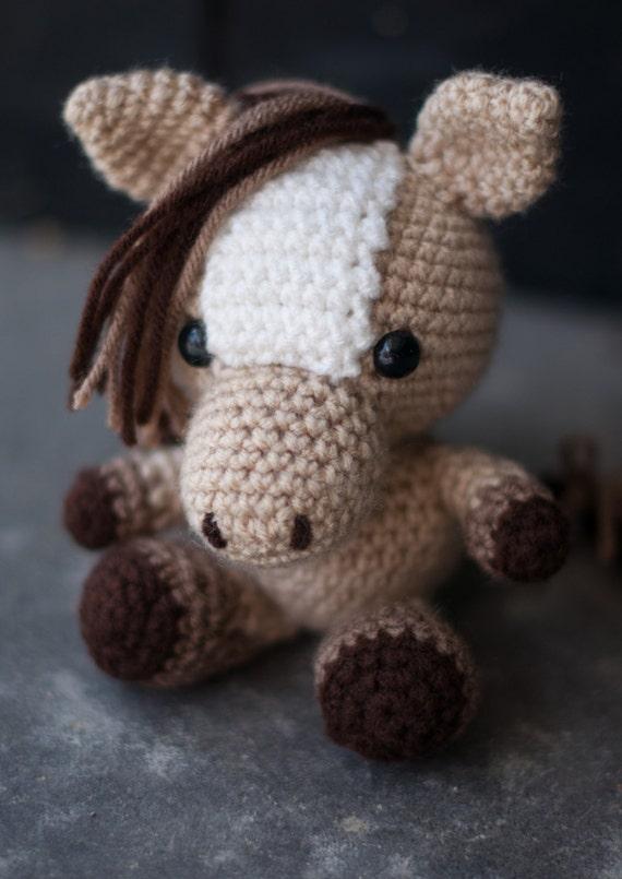 Amigurumi Pony Tutorial : PATTERN: Crochet horse pattern amigurumi by ...