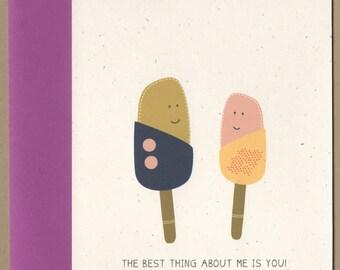 Love, Anniversary, Valentine's Day, or Friendship Card :)