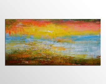 Large Wall Art, Abstract Art, Landscape Painting, Abstract Painting, Large Art, Original Art, Canvas Painting, Canvas Art, Oil Painting
