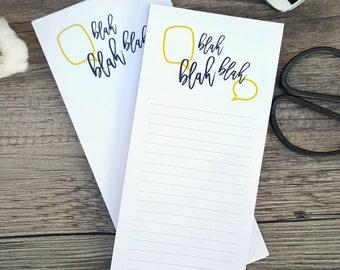 Blah blah blah Notepad