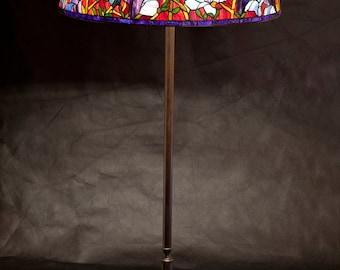 """28"""" Magnolia floor lamp"""