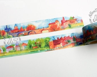 Village Washi Masking Tape 25mm -AT1786