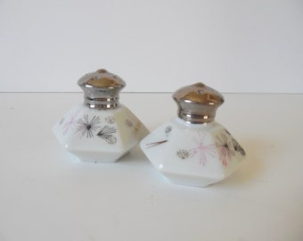 Mid Century Modern Salt and Pepper Shakers Starburst Salt and Pepper Shakers Atomic Starburst Retro dinning mid century starburst decor