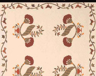 Cranberry Collection. Quilts for Christmas or Any Season. Brackman & Menaugh. Full-size patterns for 5 traditional quilts.Pieced. Appliqued