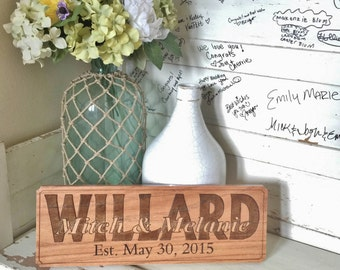 Personalized Family Name Wall Decoration