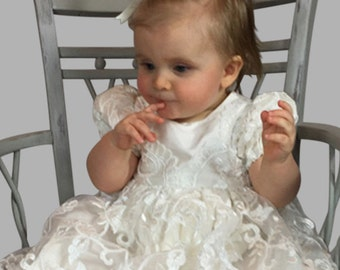 Christening Gown, Estelle with Bonnet