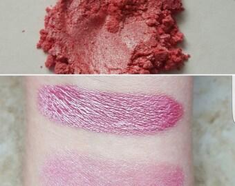 Paisley - Pink, Bright Pink, Mineral Eyeshadow, Mineral Makeup, Pressed or Loose