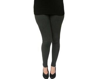 Women's Leggings - Ankle Length Leggings - Cotton Leggings - Plus and Regular Sizes - Colorful Leggings - Women's Clothing - Ladies Leggings