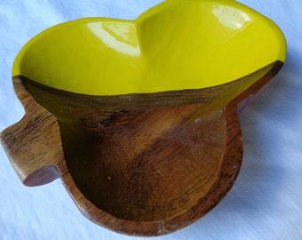 Jewelry Dish - Catch All Dish - Ring Dish - Wood Jewelry Dish - Hand Painted Jewelry Dish - Clover Dish - Hand Painted Wooden Jewelry Dish