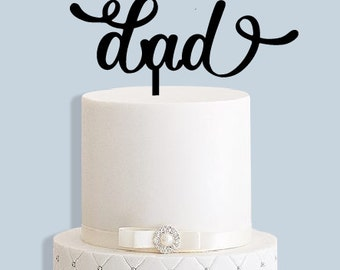 Dad Father's Day Cake Topper