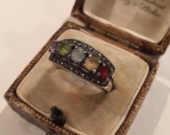 Vintage Silver Sweetheart ring, fab item