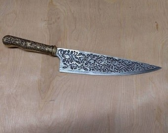 """3D Printed """"Vorpal Blade"""" from American McGee's """"Alice- The Madness Returns"""""""