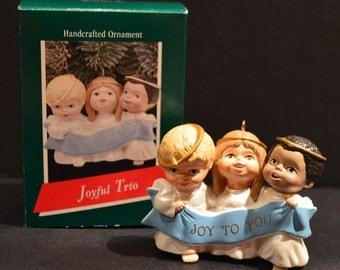 1989 Hallmark Keepsake Joyful Trio Ornament
