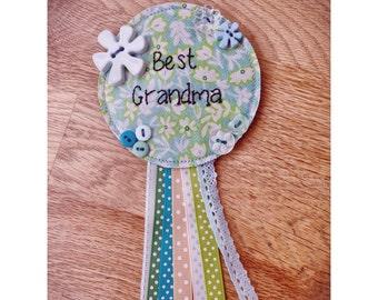 Gifts for Grandma, New Grandma Gift, Happy Birthday Grandma, Gift for Grandmother, Nanny Gift, Nana Gift,  Birthday Pin, Birthday Button