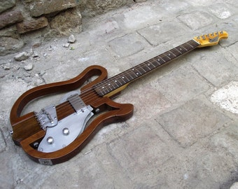 Naked Electric Guitar