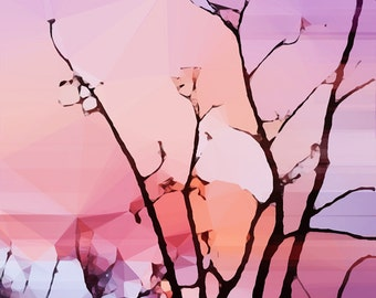 CLEARANCE - Holding Sunrise -- Limited Edition Matted Print