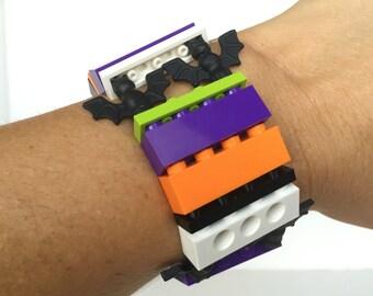 Halloween Bats - LEGO® 1 x 4 Bracelet - Jewelry made with LEGO® pieces