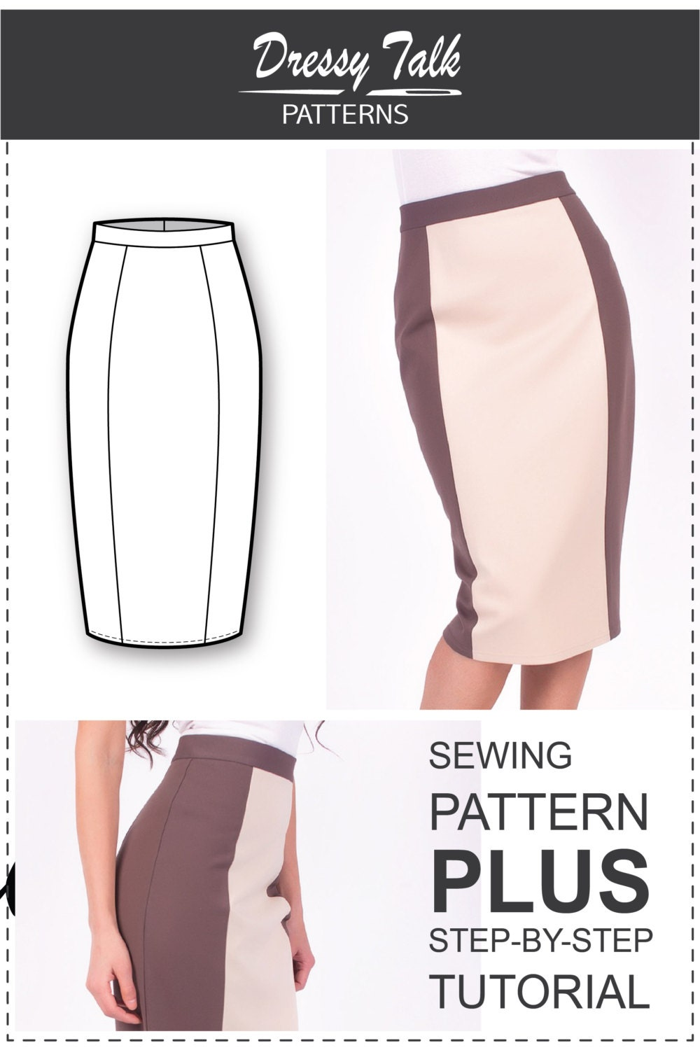 Pencil Skirt Sewing Pattern 99