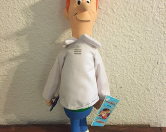 George Jetson Doll / The Jetsons Movie / Made by Applause