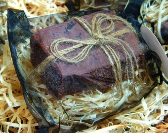 Lovely, Unscented, Red Kaolin Clay and Shea Butter Face Soap
