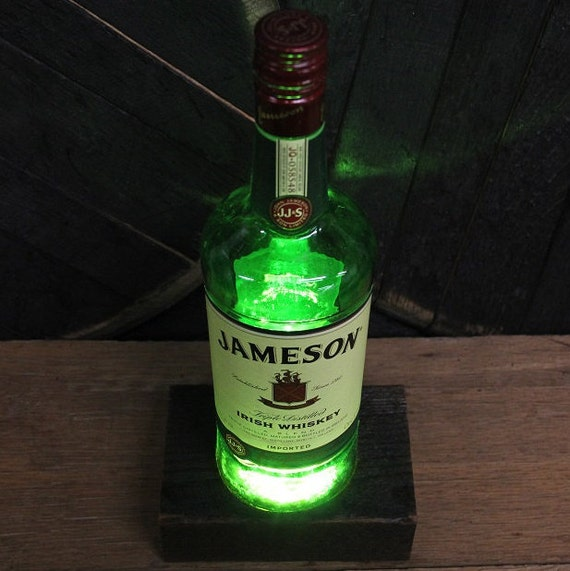 Jameson Whiskey LED Light Perfect Valentine's Gift For Guys, Valentine's Gifts For Men, Gift For Him, Man Cave Gift, Bourbon Present