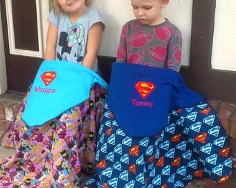 Supergirl Blanket Etsy