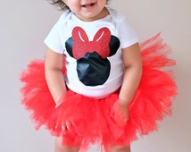 Minnie Mouse Top and Tutu Set by Hello Lalla