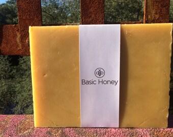 5 Lb 100% American Beeswax Brick