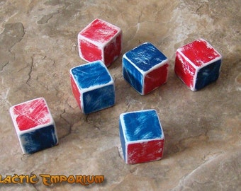 Watto Gaming Chance Cubes - Star Wars Prop Dice Jedi Qui-Gon Jinn, Anakin Skywalker, D&D, RPG Game