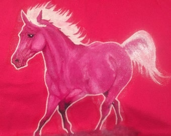 Hot Pink Pony Tote