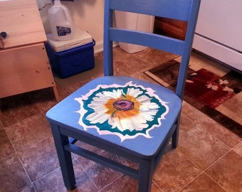 Painted Heirloom School Chair
