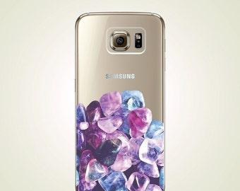 Colorful Cyrstal Stone TPU Soft case Samsung Galaxy S5 case, S6 case, S6 edge case, Note 3 case, Note 5 case, S6 plus edge case