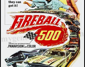 Fireball 500 Movie Poster